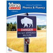VersaTiles® Literacy Book: Literacy Foundations: Phonics & Fluency