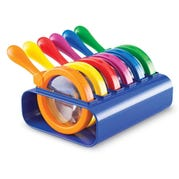 Primary Science Jumbo Magnifiers with Stand