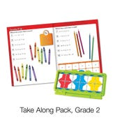VersaTiles® Math Take Along Pack, Grade 2