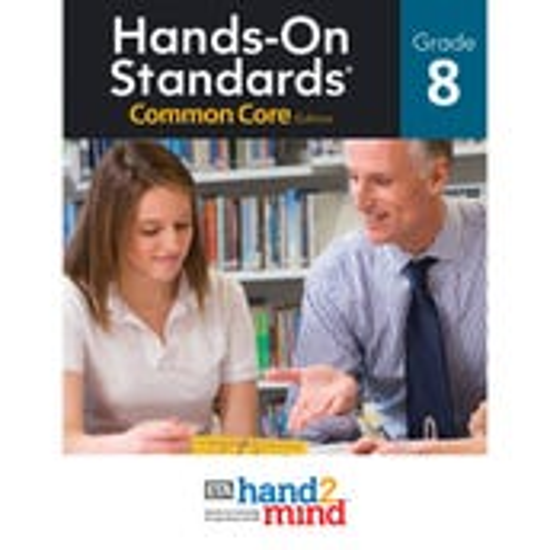 Hands-On Standards® Math, Common Core Edition Grade 8 eBook