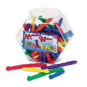 Measuring Worms Counters Set of 72