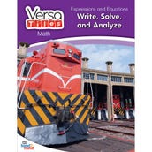 VersaTiles®Math Book: Expressions and Equations: Write, Solve, and Analyze