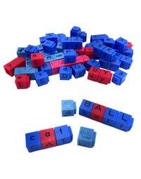 Reading Rods® Alphabet & Phonemic Awareness Linking Letter Cubes