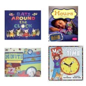 Math Time Book Collection (5 Books), Grades K-1