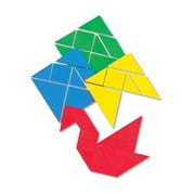 Foam Tangrams, Set of 4