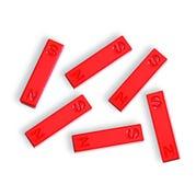 "Ceramic Bar Magnet, 1.5"", Set of 6"