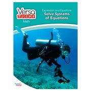 VersaTiles® Grade 8 Math Book, Expressions & Equations, Solve Systems of Equations