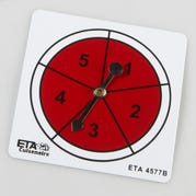 Numbers 1-5 Spinners, Set of 5
