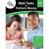 Math Tasks Pattern Blocks Book, Grades 6-8