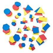 Foam Desk Attribute Blocks, Set of 60