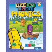 Reading Rods® Phonics, Student Activity Books, Set C, Set of 6