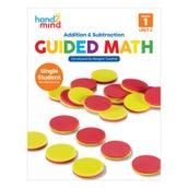 Guided Math Single Student Workbook, Grade 1, Unit 2