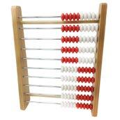 Rekenrek 100-Bead Wood, Individual Student Counting Frame