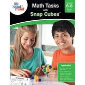 Math Tasks Snap Cubes Book, Grades 6-8