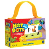 Hot Dots Jr. Card Set: The Alphabet Cards, 1 Deck
