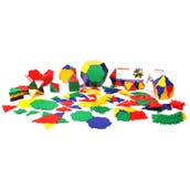 Polydron School Geometry Set, Set of 266