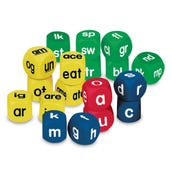 Phonics Cubes Class Set, Set of 18