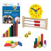 Hands-On Standards® Learning at Home Math Kit, Grade 1