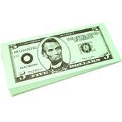 $5 Bills, Set of 100