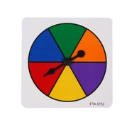Six-Color Spinners, Set of 5