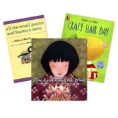 Reading Comprehension Visualizing & Imagining Book Collection (5 Books), Grades K-1