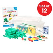 Individual Student Manipulative Kits, Grades K-2, Set of 12
