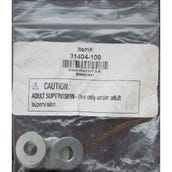 "Washers, 7/8"" OD x 3/8"" ID, Set of 100"