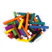 Plastic Cuisenaire® Rods Introductory Set,  Set of 74