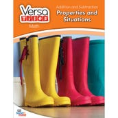 VersaTiles®Math Book: Addition and Subtraction: Properties and Situations