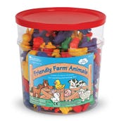 Friendly Farm® Animal Counters in Plastic Jar, Set of 144