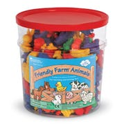 Friendly Farm® Animal Counters in Plastic Jar, Set of 144