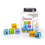 Multiple Representation Equivalency Dice, Set of 16