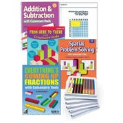 Cuisenaire® Rods Kit for Addition, Subtraction, and Fractions