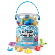 Under the Sea Ocean Counters, Set of 72