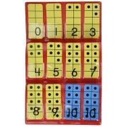 DecaDots® Ten-Frame Tiles, 30 piece set