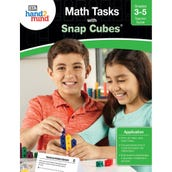 Math Tasks Snap Cubes Book, Grades 3-5