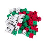 Foam Dot Dice, Set of 72