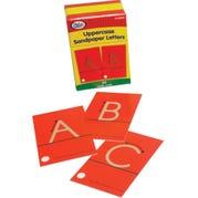 Uppercase Sandpaper Letters