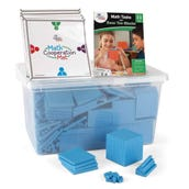 Math Tasks Base Ten Blocks Classroom Kit, Grades 3-5