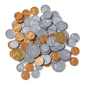 Coins, Assorted, Set of 96
