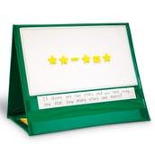 Write & Wipe Magnetic Demonstration Tabletop Pocket Chart