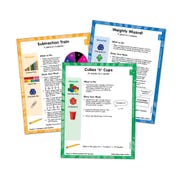 Differentiated Math Centers, Grade 5 Measurement, Data, Volume, and Geometry Card Set