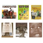Social Studies Civil Rights Book Collection (8 Books), Grades 4-5