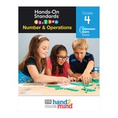 Hands-On Standards®, Number & Operations, Common Core Edition, Grade 4, Teacher Resource Guide