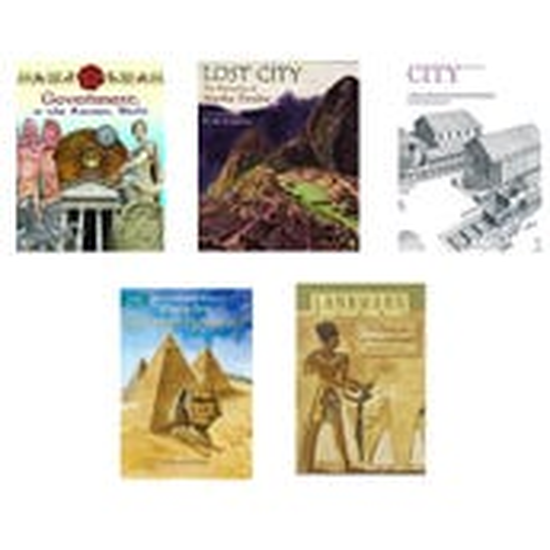 Social Studies Ancient Civilizations Book Collection (8 Books), Grades 6-8