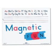 Magnetic ABC Write-On Board