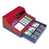 Cash Register w/Canadian Currency