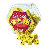 Soft Foam Dot Dice