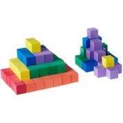 1-in Foam Color Cubes, Set of 102