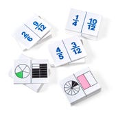 Fraction Dominoes, Set of 30